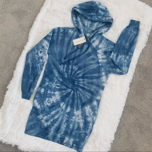 Tie Dye Hoodie with Pockets